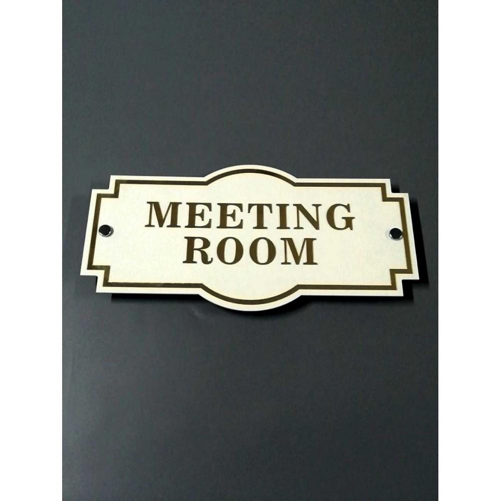Toplantı Odası Kapı İsimliği